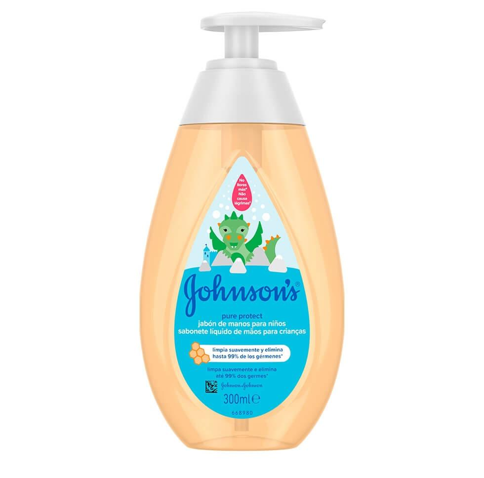 Johnson's® Pure Protect dječji gel za pranje ruku