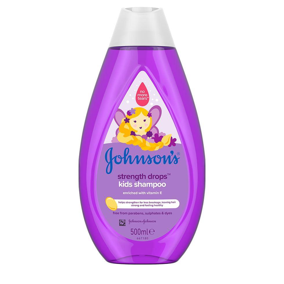 JOHNSON'S® STRENGTH DROPS šampon za djecu Strength Drops šampon za djecu