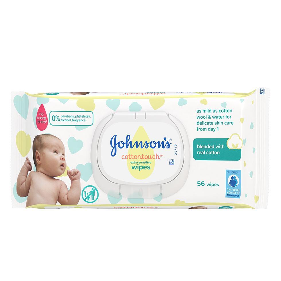 JOHNSON'S® CottonTouchTM vlažne maramice za djecu