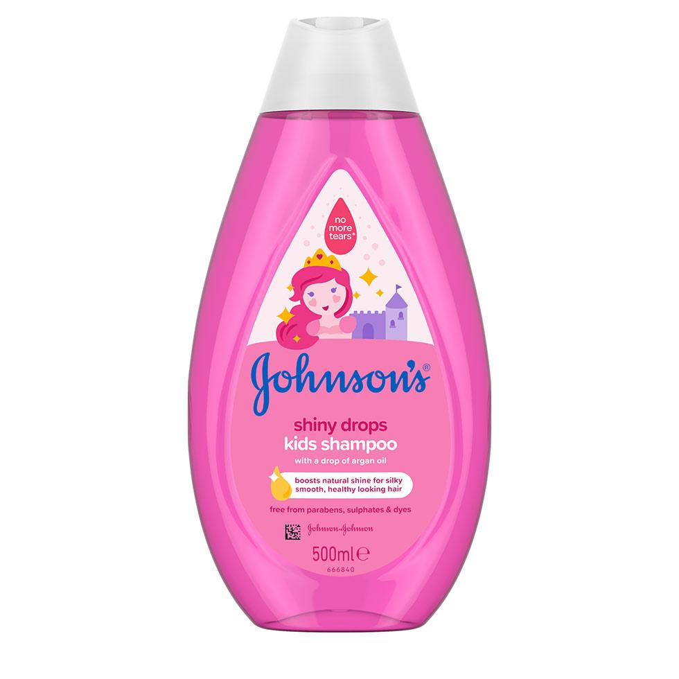 JOHNSON'S® SHINY DROPS šampon za djecu